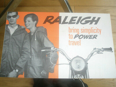 Raleigh Moped brochure c1970 ref AD4850