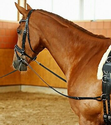 Busse Solibel-Star Best Quality Fixed Leather Side-Reins FAST & FREE POST