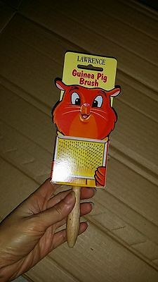 Lawrence Guinea Pig Brush with Soft Ball Tip (MADE IN ENGLAND)