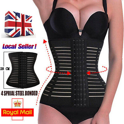 Slimming Body Waist Shaper Training Tummy Cincher Girdle Trainer Corset Women UK