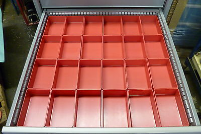 24 4x6 Plastic Boxes fit Lista Vidmar Waterloo Craftsman Kennedy  Snapon Toolbox