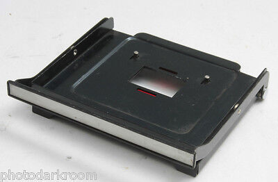 """35mm Negative Carrier for Unknown Enlarger - Fits Over 5"""" Wide Stage - USED F07"""