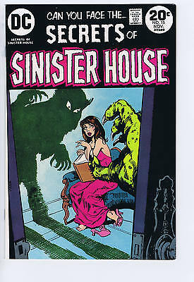 Secrets of Sinister House #15 DC 1973