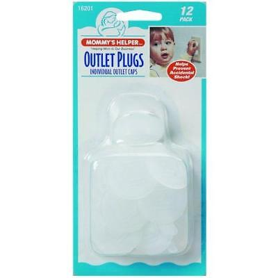 Mommy's Helper Outlet Plugs 12 Pack New