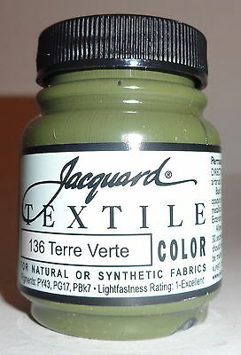 Jacquard ' Terre Verte' ' Natural Or Synthetic Fabric Paint
