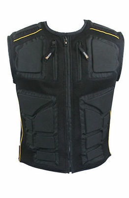 Xelement Mens Padded Armored Sport Motorcycle Vest (S-3XL)