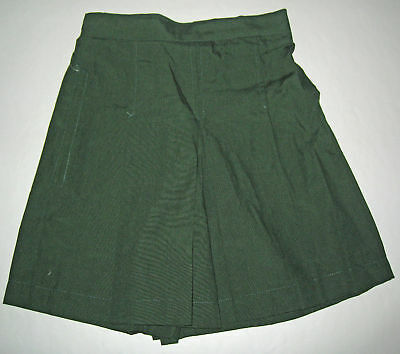 NEW School Uniform Culotte Skort Green size 5,6,8,10,12,14,16