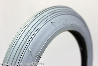 "8 x 1-1/4 "" Inch Tires Wheelchair Scooter MOBILITY Tyres Grey Pneumatic 8"""