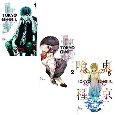 Tokyo Ghoul Volume (1-3) Sui Ishida Collection 3 Books PAck Set Paperback NEW