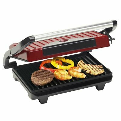 Bestron Grill Panini APG100R 700 W rouge Gril à panini Grille-/panini/sandwich