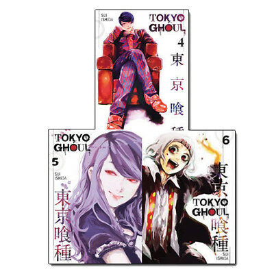 Anime & Manga Tokyo Ghoul Volume 4-6 Collection 3 Books Set pack NEW