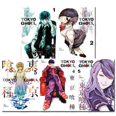 Sui Ishida Tokyo Ghoul Vol (1-5) Collection 5 Books Set Comics & Graphic Novels