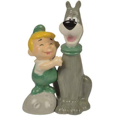 CLEARANCE PRICED The Jetsons Salt & Pepper Shakers: Elroy & Astro