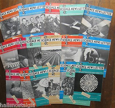 18 issues of Science News Letter 1964-1965