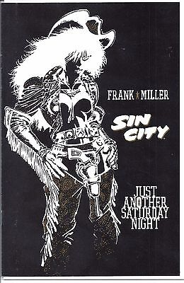 Sin City: Just Another Saturday Night (1998) VF/NM-NM  One-Shot  Frank Miller