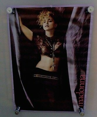 Vintage Madonna Like A Virgin Era Poster 1984 Herb Ritts 20 x 28 New In Package