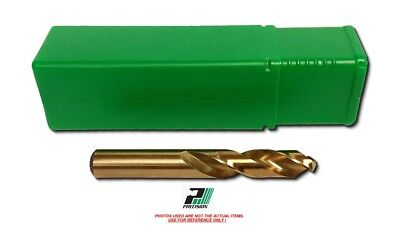 .2570 Drill PTD-042306 STUB Length Cobalt Gold Split Point 135°  PTD-F-SCGS