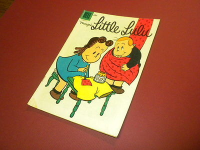 LITTLE LULU - MARGE'S #104 Dell Comics 1957 vintage TUBBY