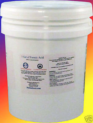 5 Gallon Bucket of Formic Acid