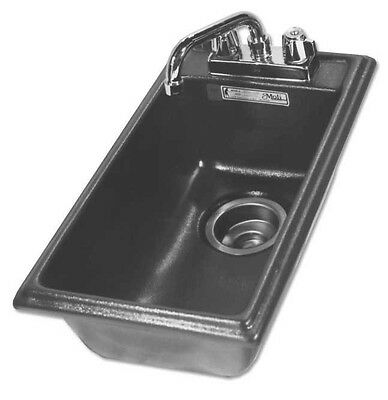 Moli Compact Drop-In Hand Sink w/ Deck for Faucet DBHS 1120 black $ 159.-
