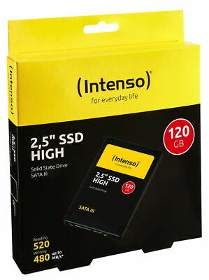 Intenso SSD 120GB interne Festplatte High Performance TLC 2,5 Zoll SATA III