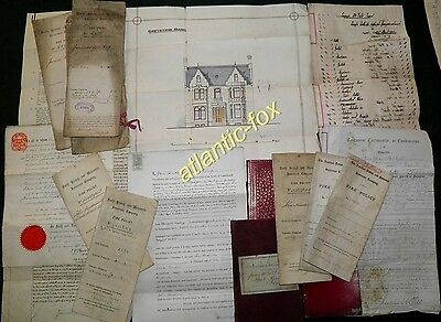 1855 -1905 DUMFRIES ARCHIVE Lot  James & Margaret McGill of GREYSTONE BANK