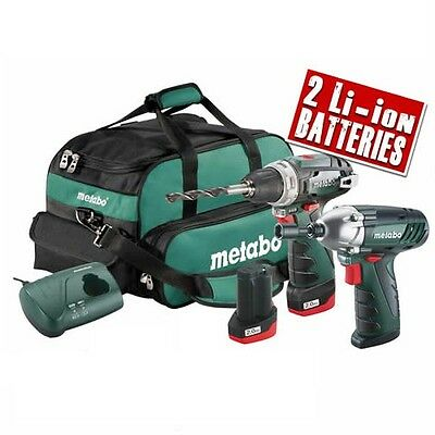 METABO COMBOSET 2.3 10.8v Cordless Lithium-ion 2 Piece Pack