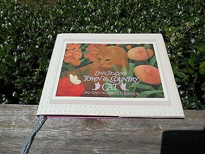 Town & Country Cat Book, Lynn Hollyn's paintings by Robert Goldstrom