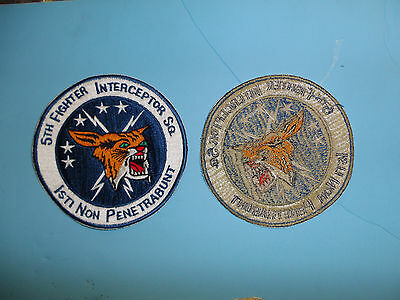 b4081 US Air Force Korean era 5th Fighter Interceptor Squadron patch