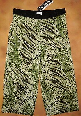 NWT Body Wrappers low Rise hot shorts 8491 gold silver ladies sizes cheer dance