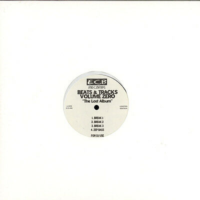 "DJ Icey - Beats & Tracks Volume Zero ""The Lost Album"" Vinyl US 12"""