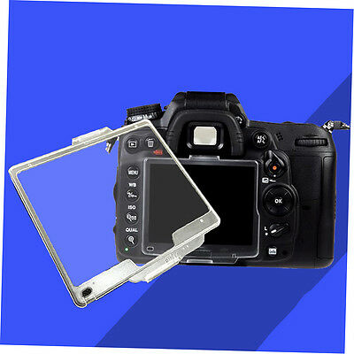 Transparent Hard Pastic LCD Screen Protector Monitor Cover BM For Nikon GH