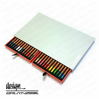 Bruynzeel Design - High Quality Colouring Pencils - Artist Box of 24