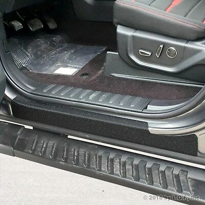 2015-2017 Ford F-150 Crew Cab 4pc Door Sill Protect Threshold Step Pad Custom