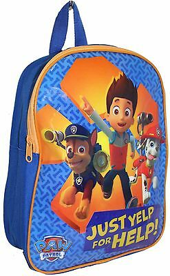 """Official Licensed 14"""" Paw Patrol Childrens Backpack Childs Paw Patrol School Bag"""