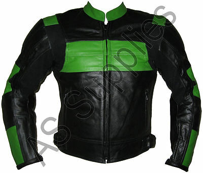 """""""POISON"""" New Leather Biker Motorcycle Jacket - All sizes!"""