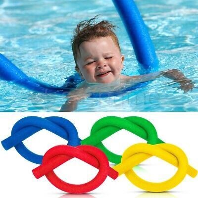2 x FLEXIBLE SWIMMING POOL NOODLES FLOAT AID WOGGLE LOGS NOODLE WET SWIM SWIMMER
