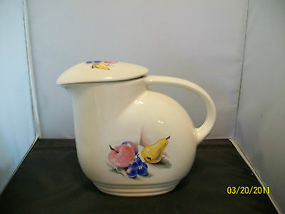 Edwin Knowles, Fruits (Utility Ware) Refrigerator Jug With Lid