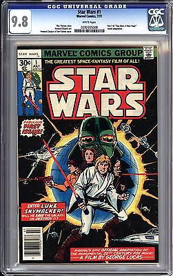 Star Wars #1 Cgc 9.8   White Pages!     Highest Graded!  1977 Marvel