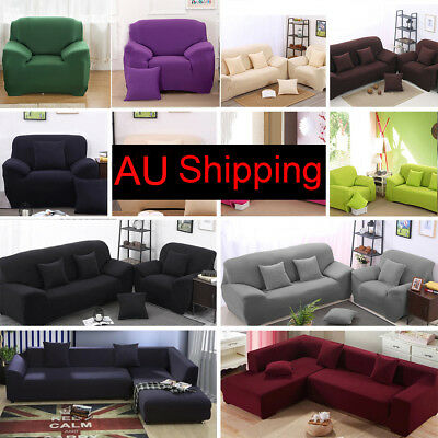 Home Furniture Chair Loveseat Sofa Couch Stretch Protector Cover Slipcover
