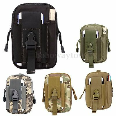 Tactical Waist Fanny Pack Belt Bag EDC Camping Hiking Pouch Wallet Phone Hook