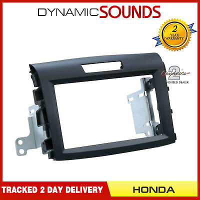 CT23HD31 Black Soft Touch Double Din Fascia Panel Adaptor For HONDA CR-V 2012