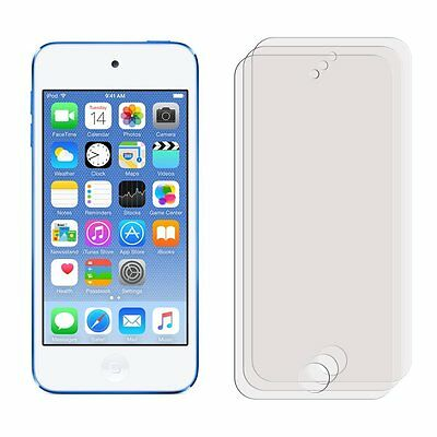 3 Clear Front Anti Scratch Screen Cover for Apple iPod Touch 6 6th Generation
