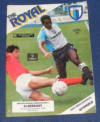 Reading Home Programmes 1988-1989