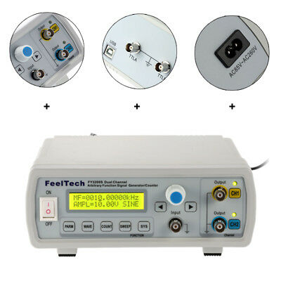 Dual-channel DDS Function / Arbitrary Waveform Signal Generator FeelTech FY3224S
