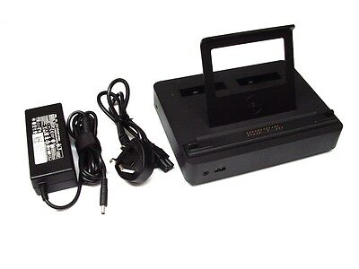 DELL Dock Docking Station for Latitude 12 Rugged Dual Battery Charger K11M Ref