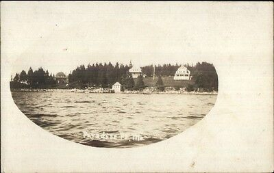 Paradise Point ME - Possibly Bethel Area? c1905 Real Photo Postcard