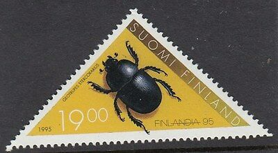 FINLAND :1995 Finlandia 95 Stamp Exhibition 6th (dung beetle)  SG1393 MNH