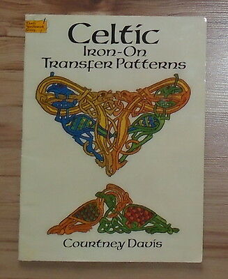 Vintage Celtic Iron On Transfer Patterns Courtney Davis Dover Needle Work Series