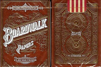 Boardwalk Papers Deck Playing Cards Poker Size Custom Limited Edition New Sealed